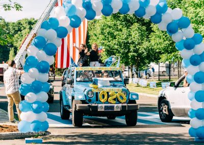 Darien High School Car Parade 2020