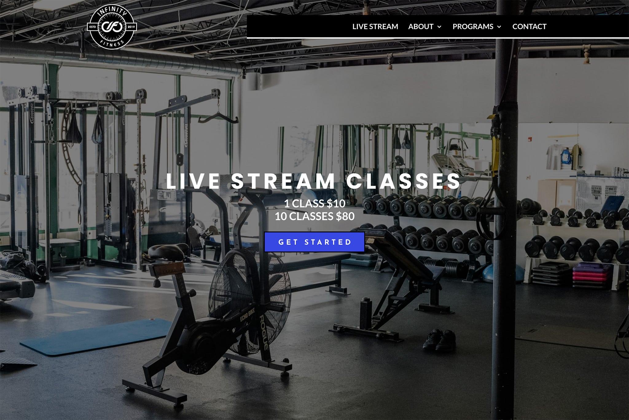 Infinity Fitness Gym header image